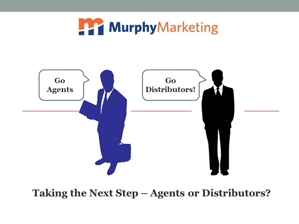 Differences between agents and distributors