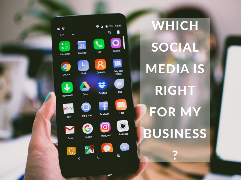 which social media is best for a beginner business